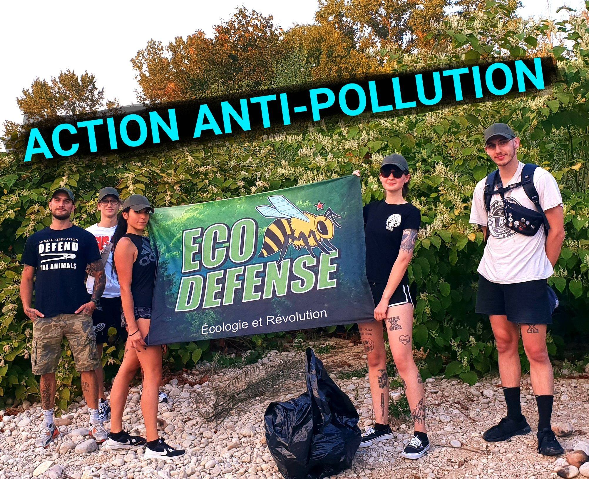Action anti pollution
